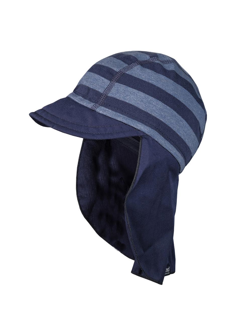 BOY-Schildmütze, Nackens. 49 Maximo. Farbe: jeansmeliert/marine, Größe: 49
