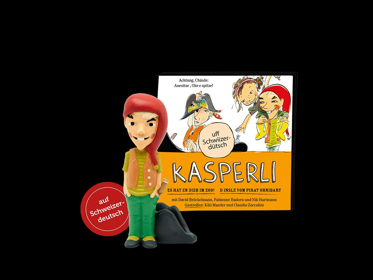 Kasperli-ImZoo/Pirat Ohnibart Toniefigur