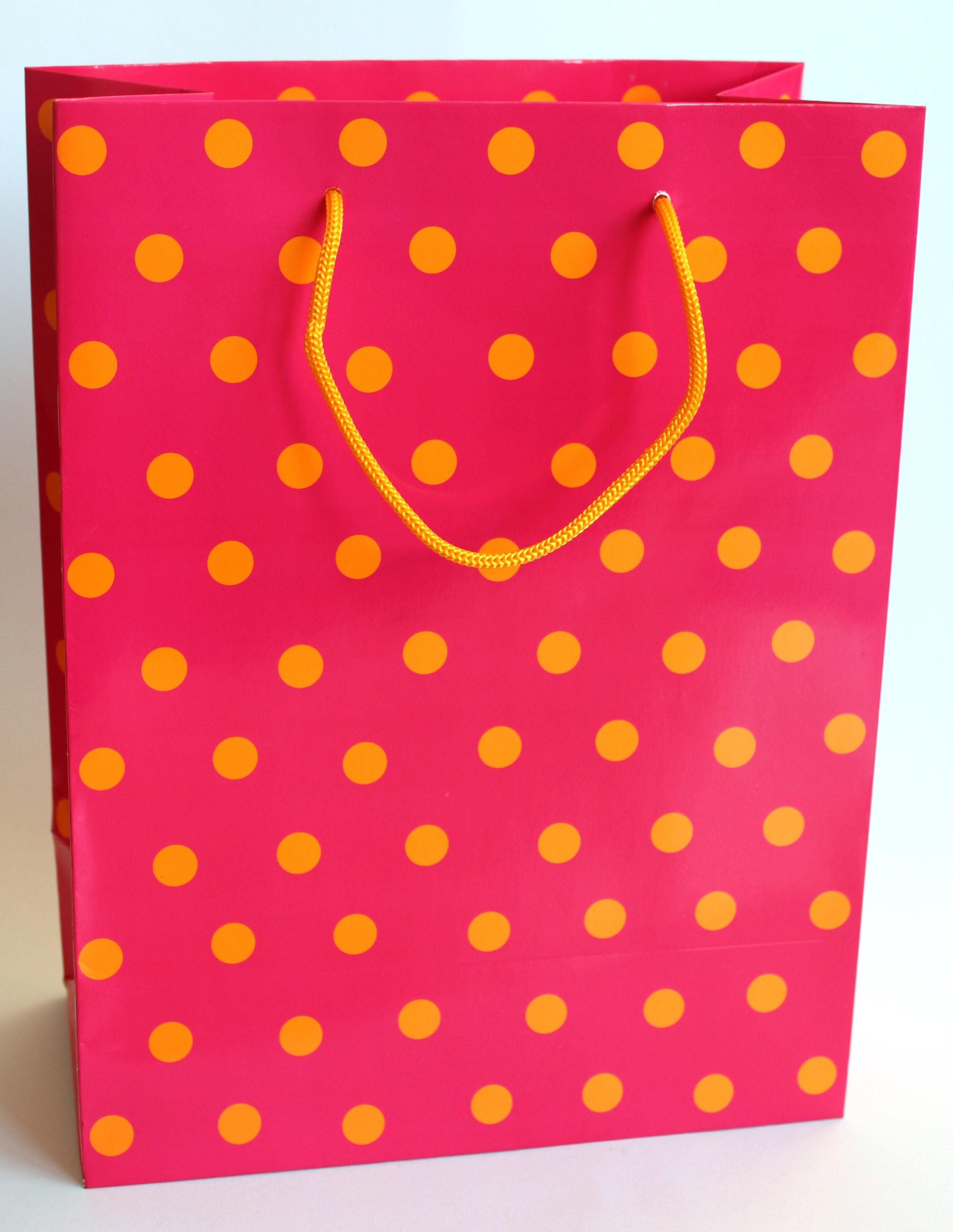Geschenktasche Popping groß