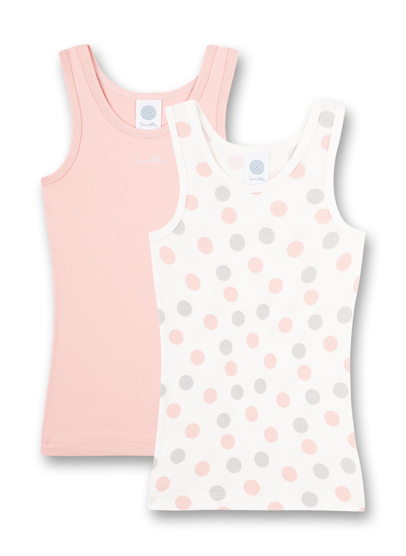 Doppelpack Shirt 116 white pe Sanetta
