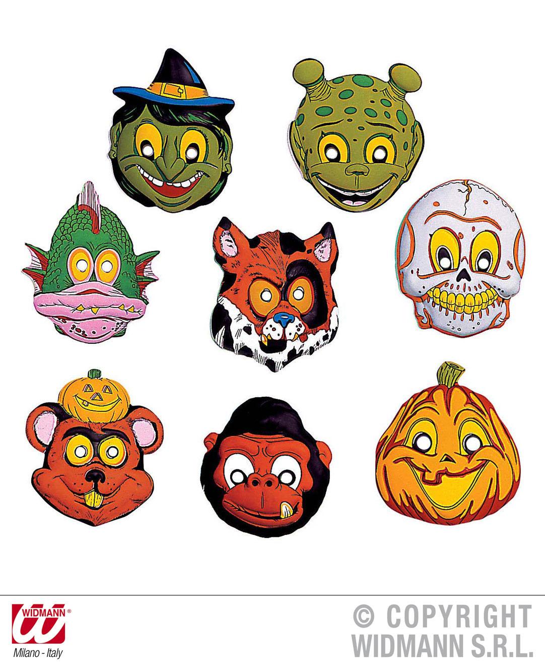 Kindermaske Halloween