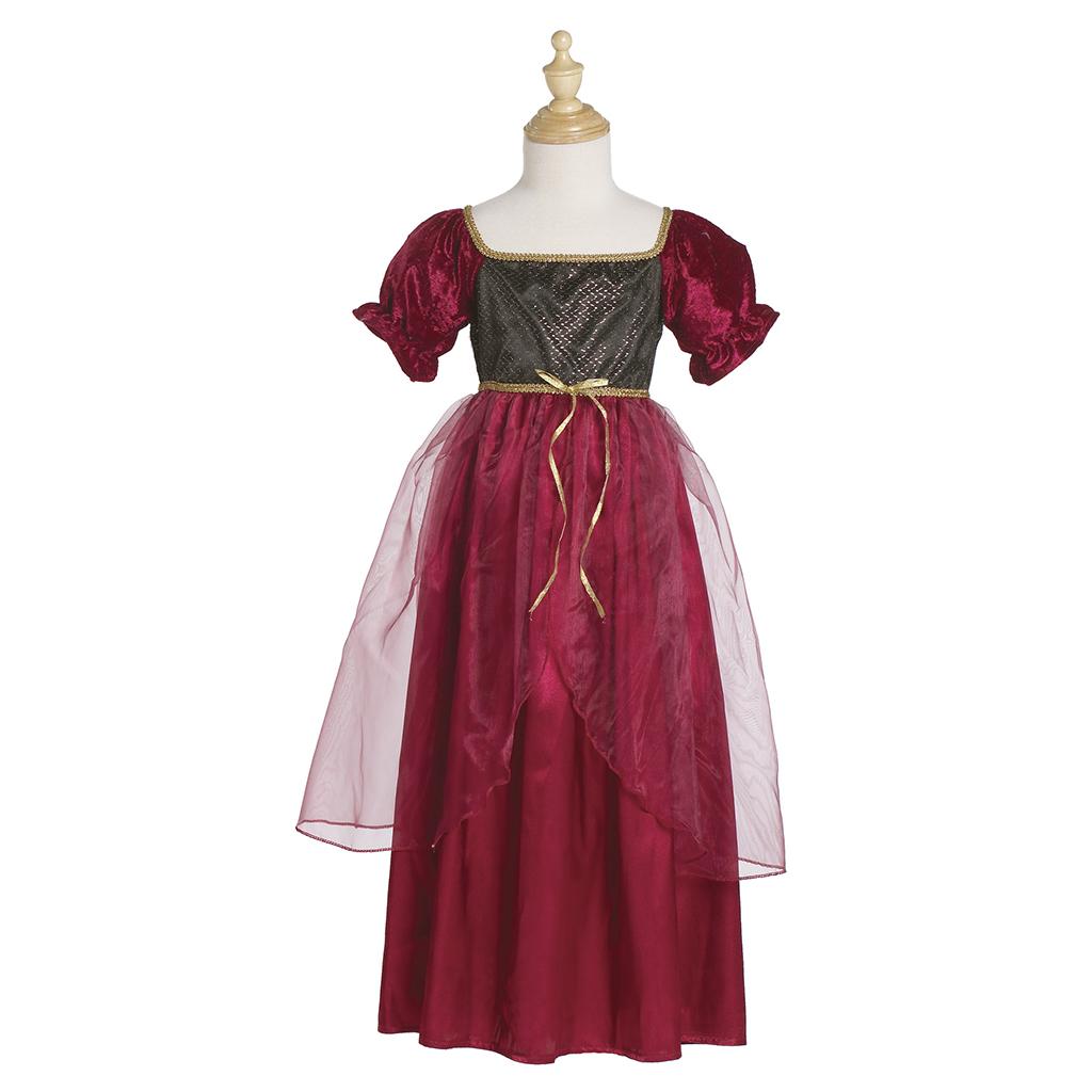 Kleid Juliette weinrot M 100% Polyester