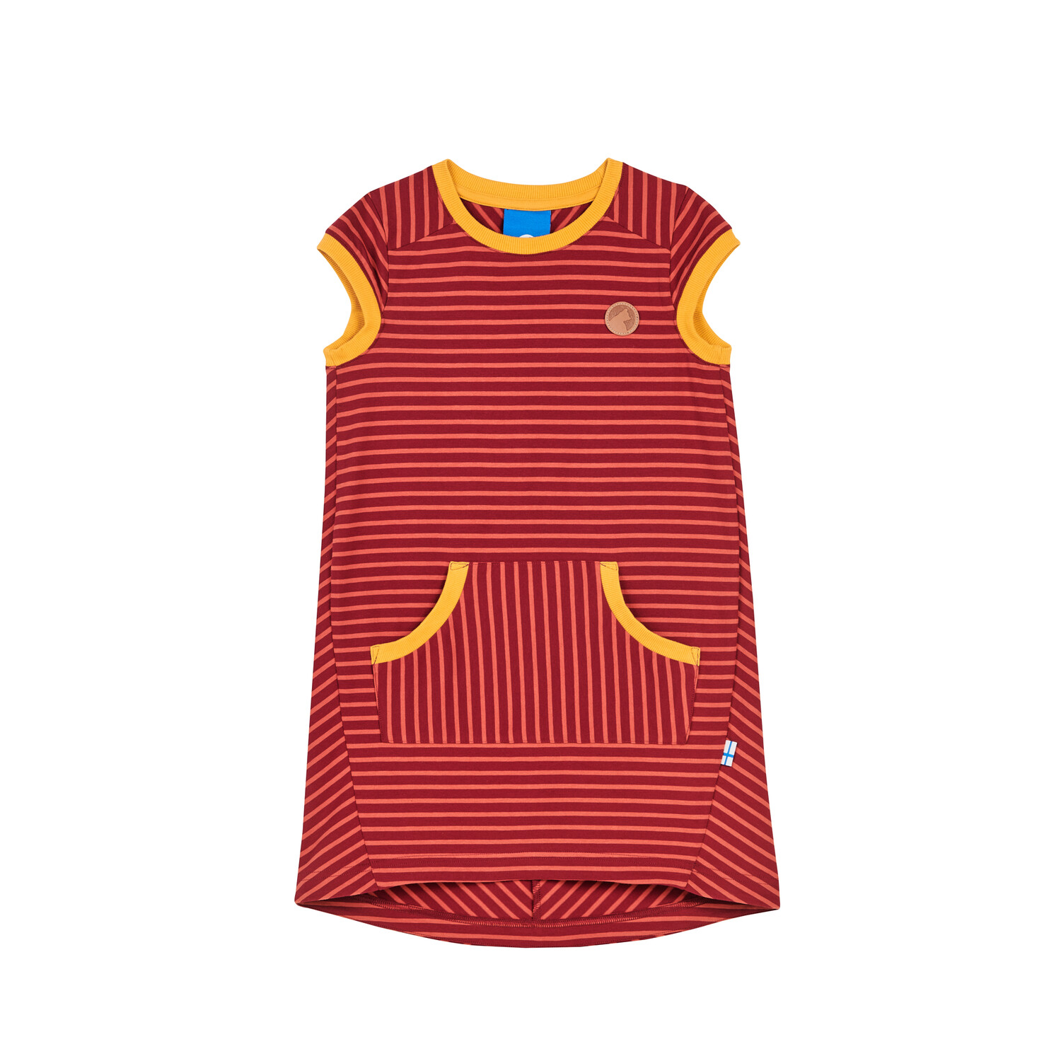 KEIDAS beet red/chili dress  110/120 Finkid®