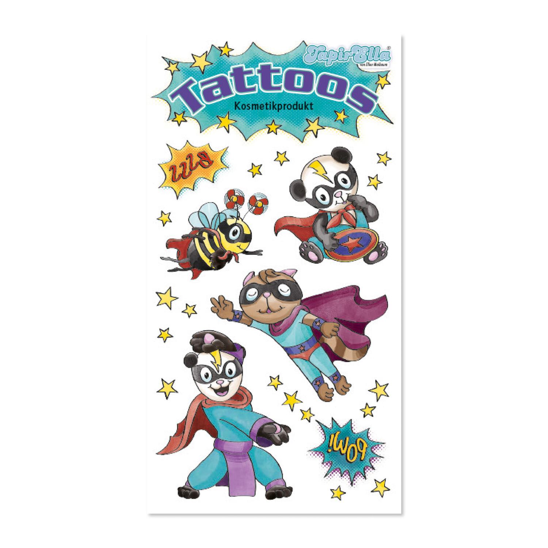 TapirElla Tattoo Tierische Superhelden