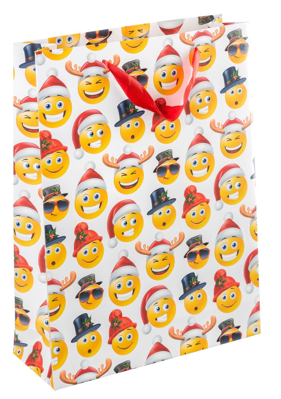 Geschenktasche X-Mas Emoticon