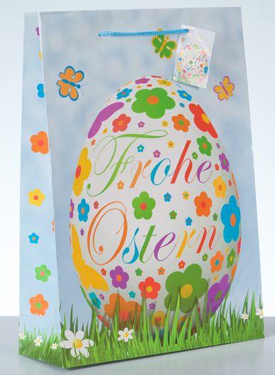 Geschenktüte Osterei groß