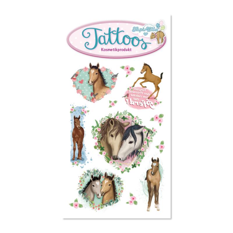 TapirElla Tattoo Pferde 2