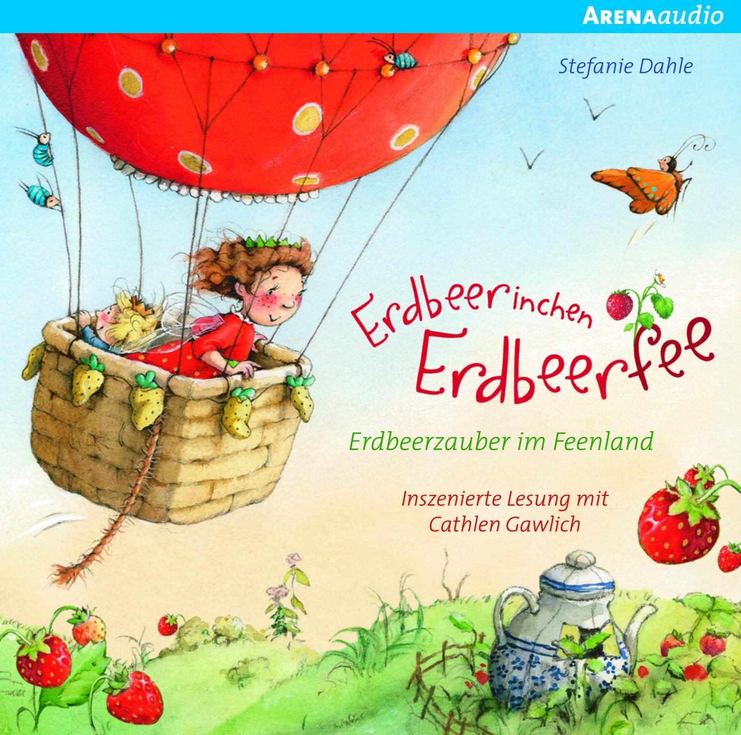 CD Erdbeerinchen Erdbeerzaube HC Nonbooks