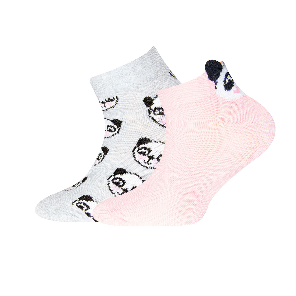 Sneaker 2er Pack Panda Größe: 23-26