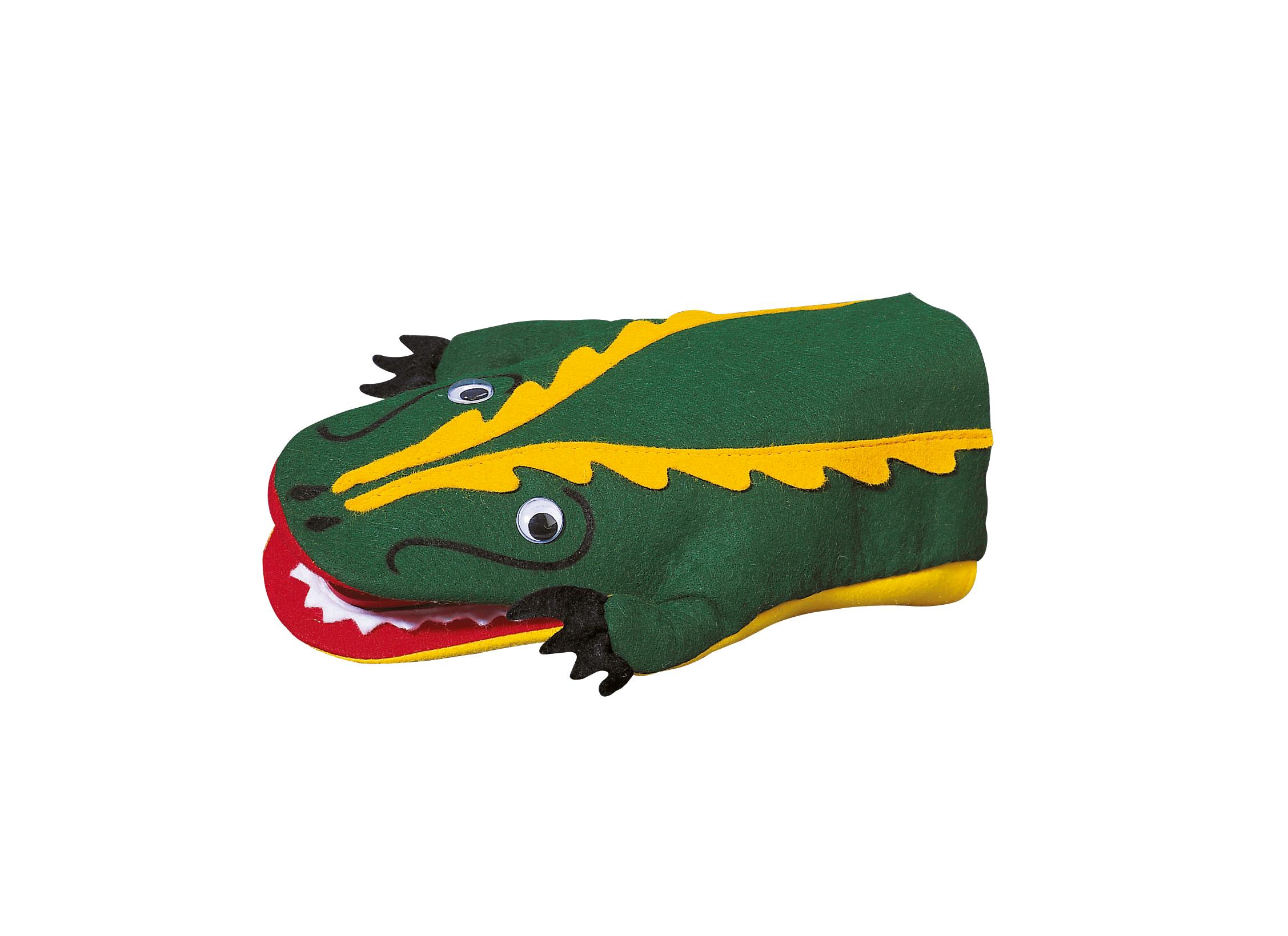Krokodil klap.
