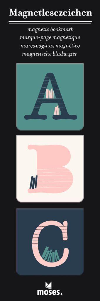 libri_x Magnetlesezeichen ABC