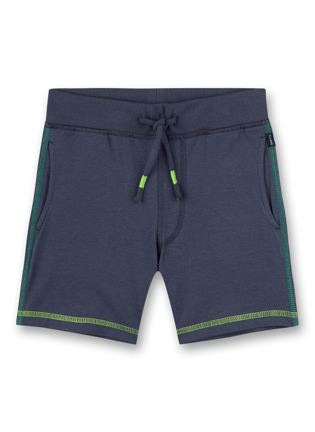 Pants short 092 dark blue Sanetta Kidswear
