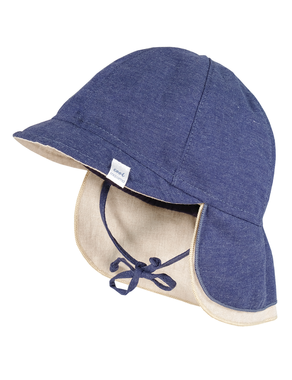 Schildmütze 43 Maximo. Farbe: jeansmeliert, Größe: 43