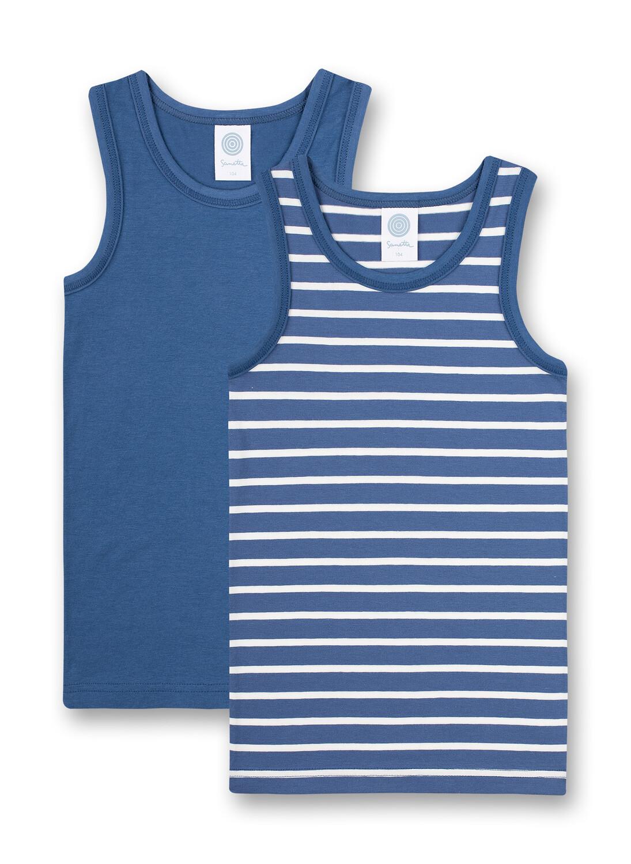 Doppelpack Shirt 092 ink blue Sanetta
