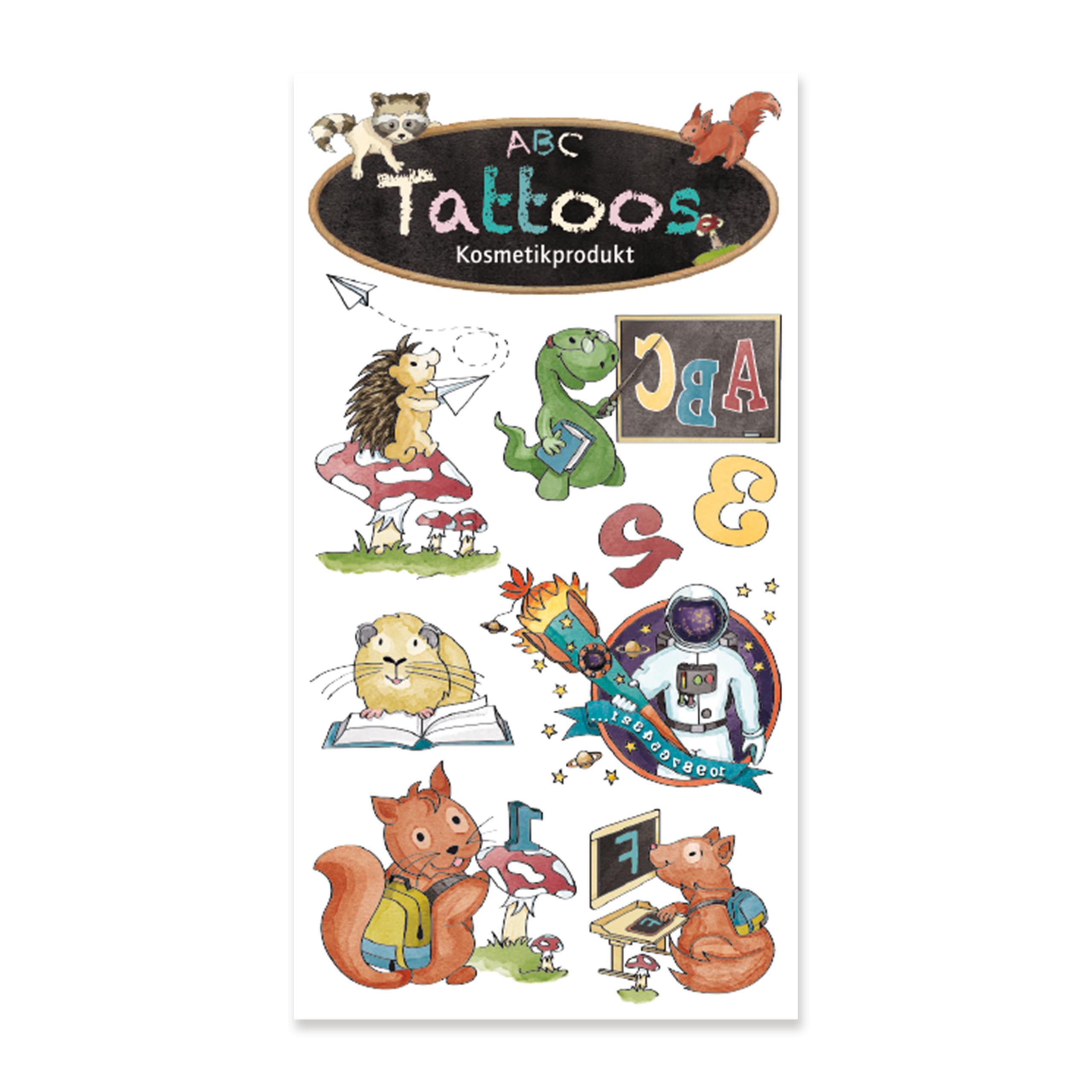 TapirElla Tattoo Schulanfang