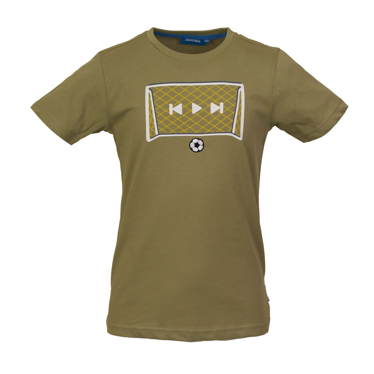 T-Shirt Tor 104 Khaki SOMEONE 100% Awesome