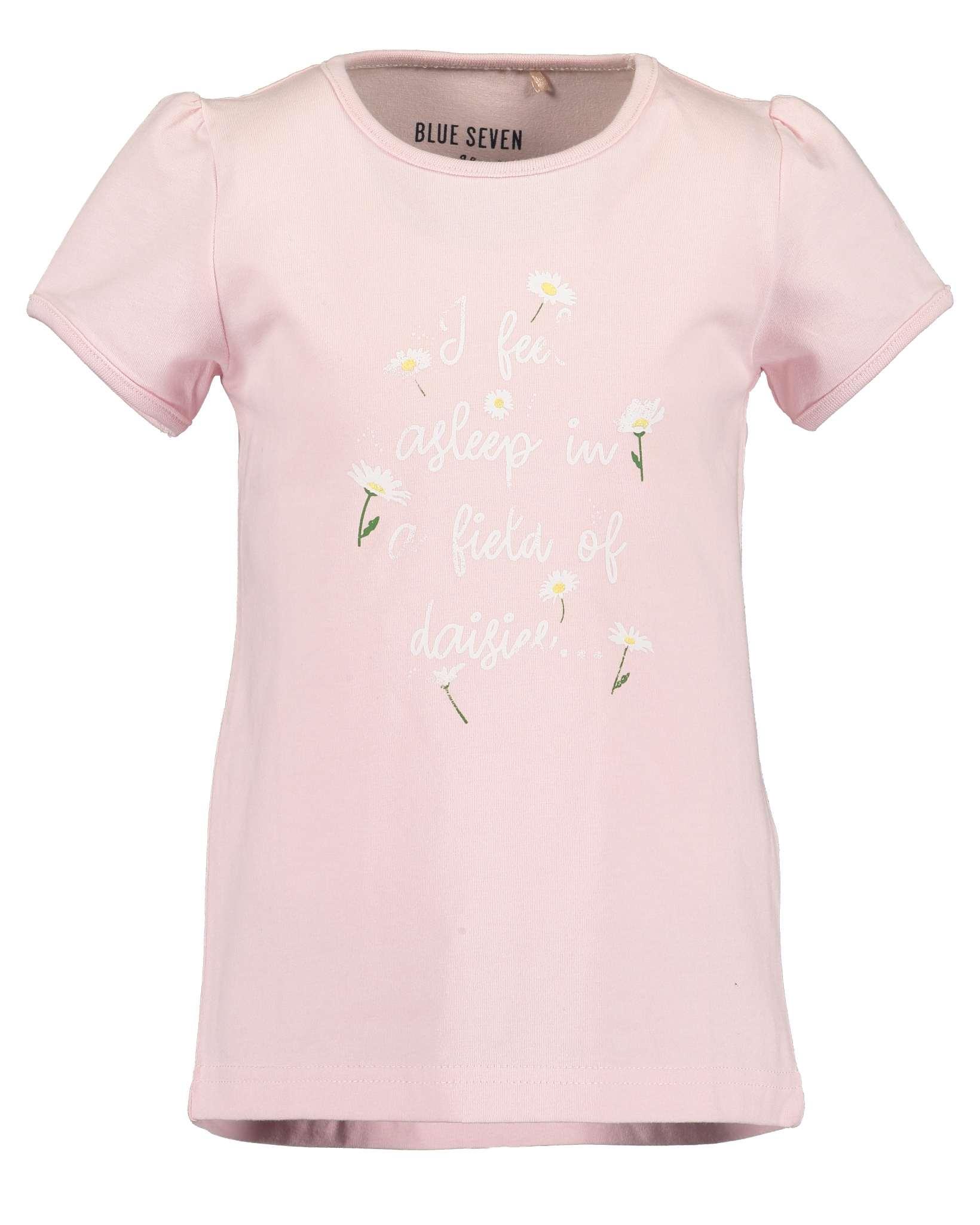 T-Shirt 116 rosa Blue Seven