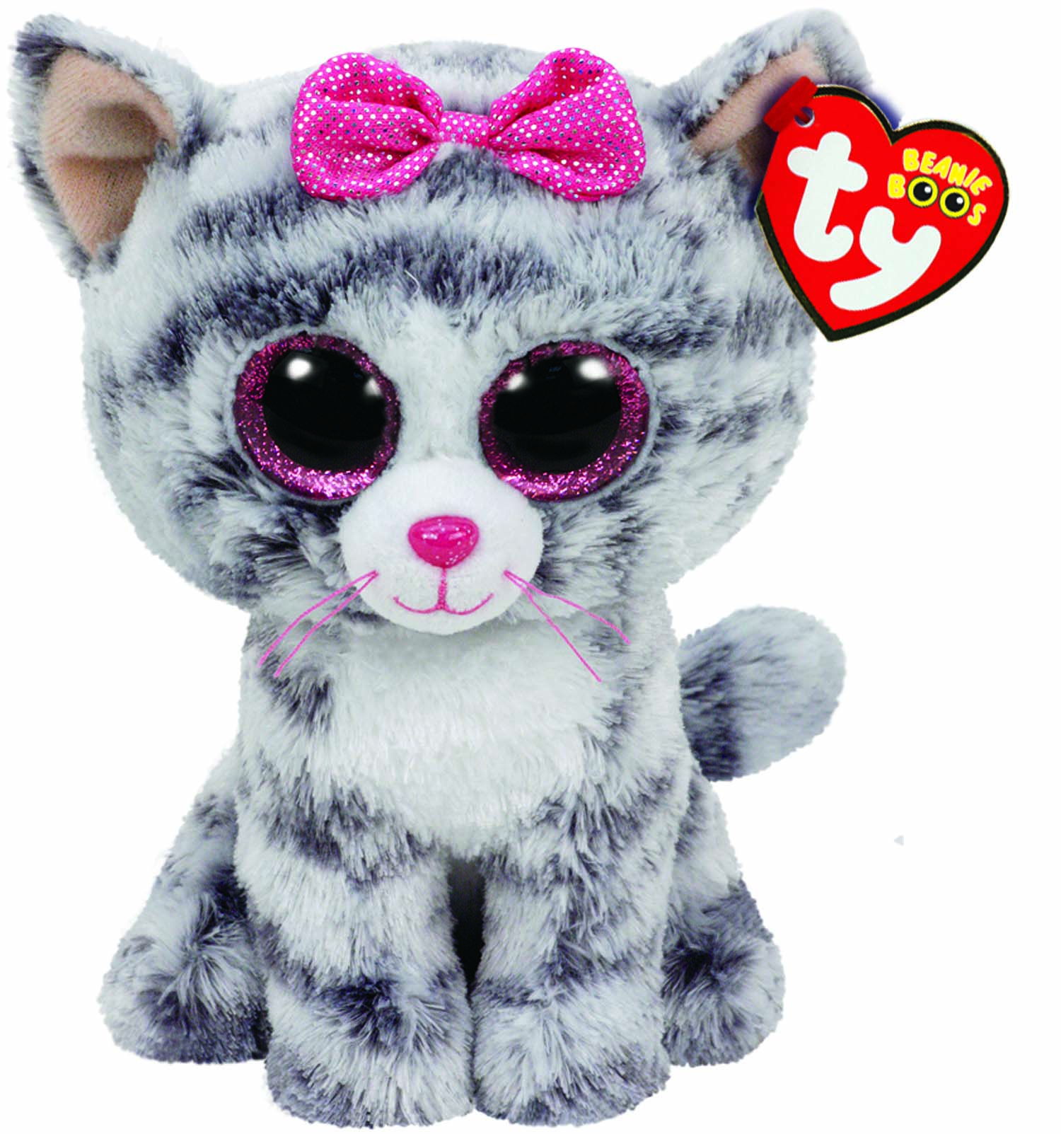 Kiki,Katze grau 15cm TY