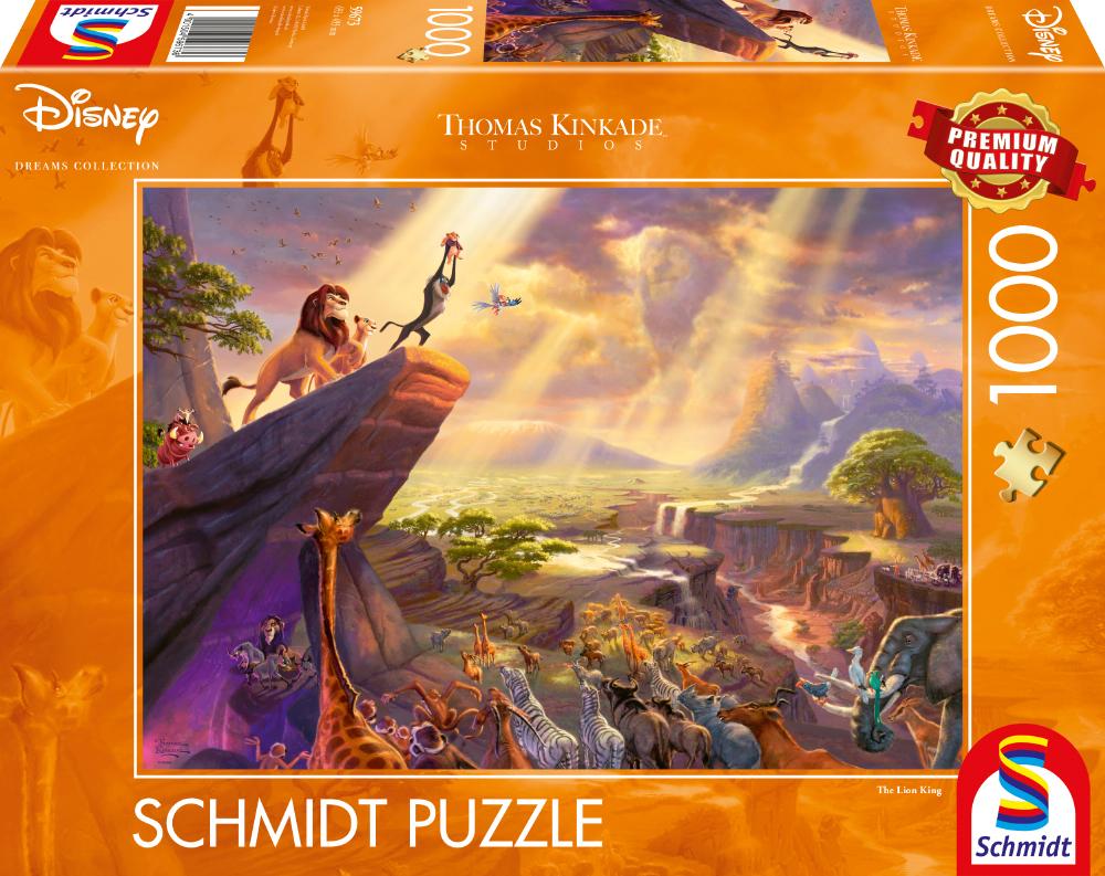 Disney® König der Löwen Thomas Kinkade  1000 Teile