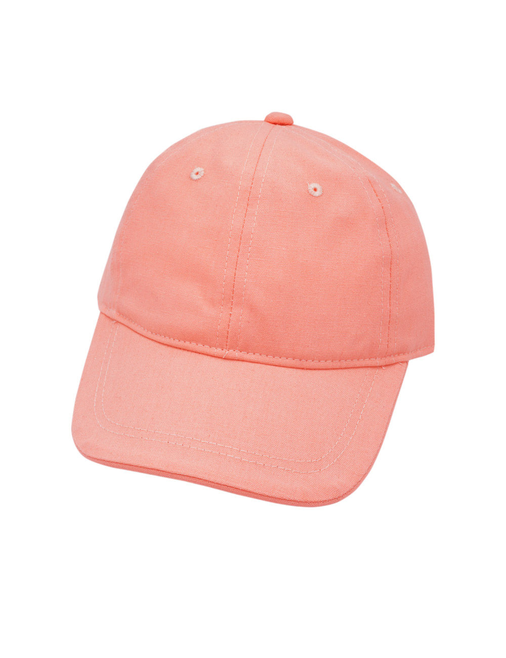 Cap, stark gebogenes Dach 47 Maximo. Farbe: flamingo, Größe: 47/49