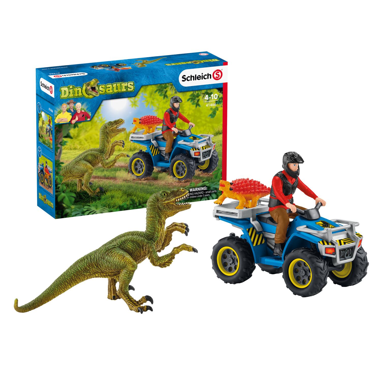 Flucht Quad vor Velociraptor