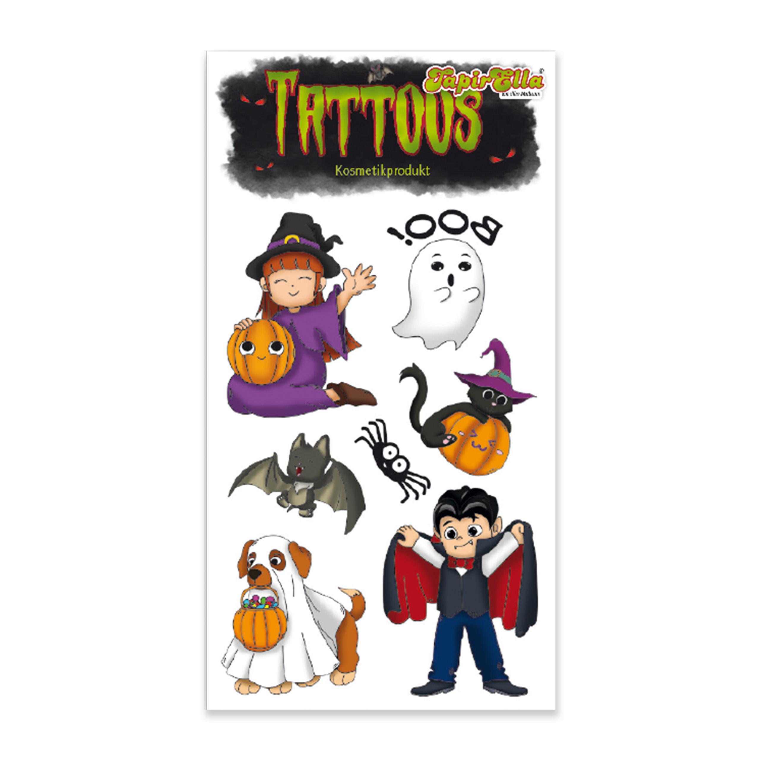 TapirElla Tattoo Halloween Sü