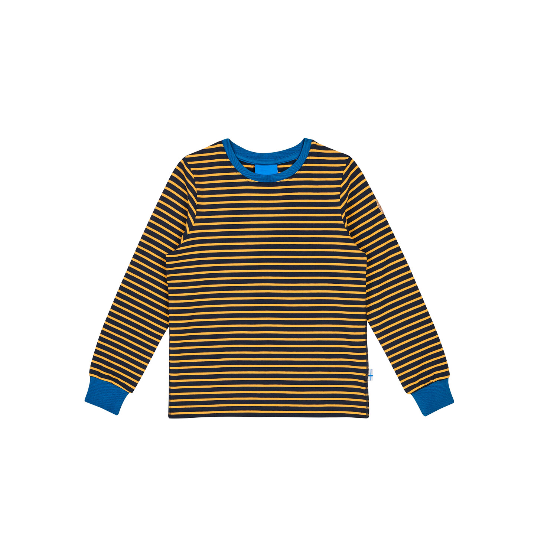 RULLA navy/golden yellow longsleeve  090/100 Finkid®
