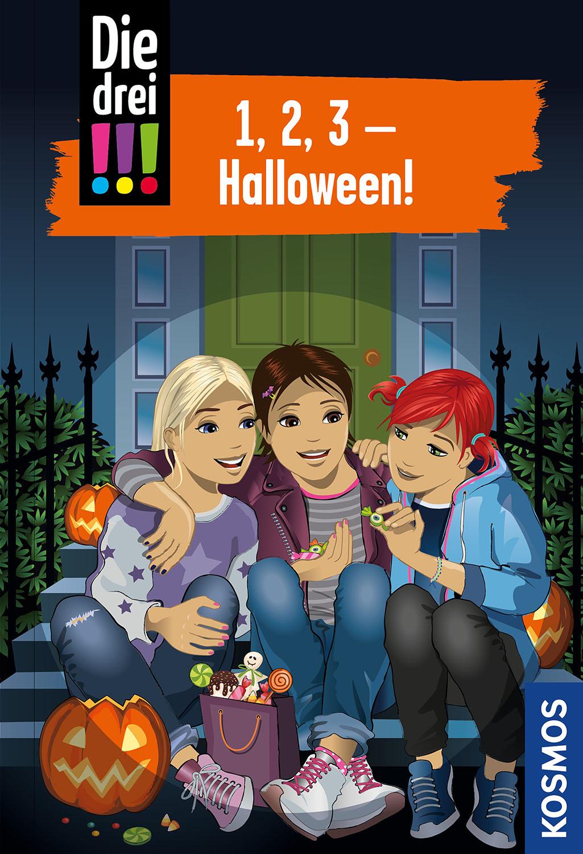 !!! 1, 2, 3 Halloween