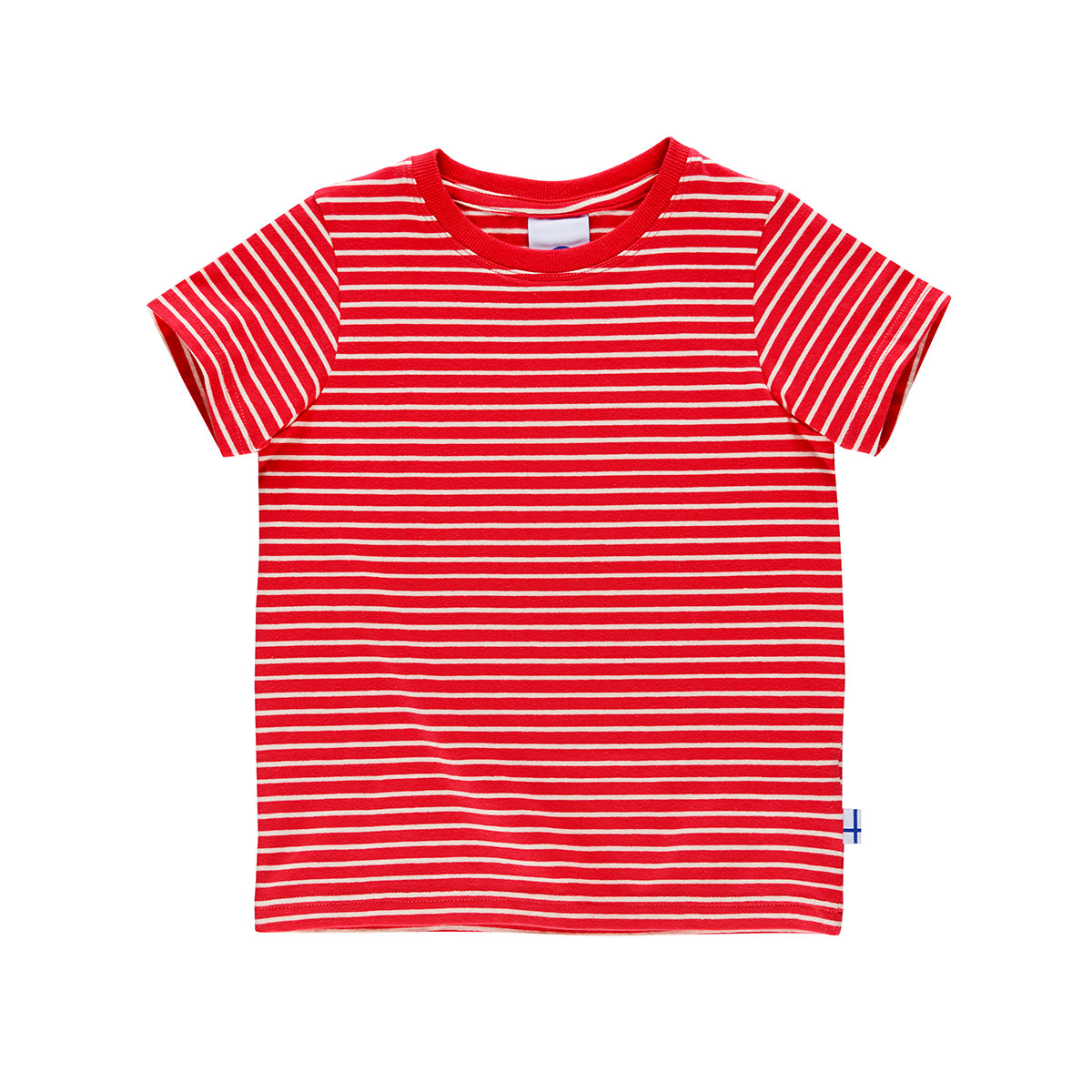 SUPI red/offwhite T-Shirt - shortsleeve  120/130 Finkid®