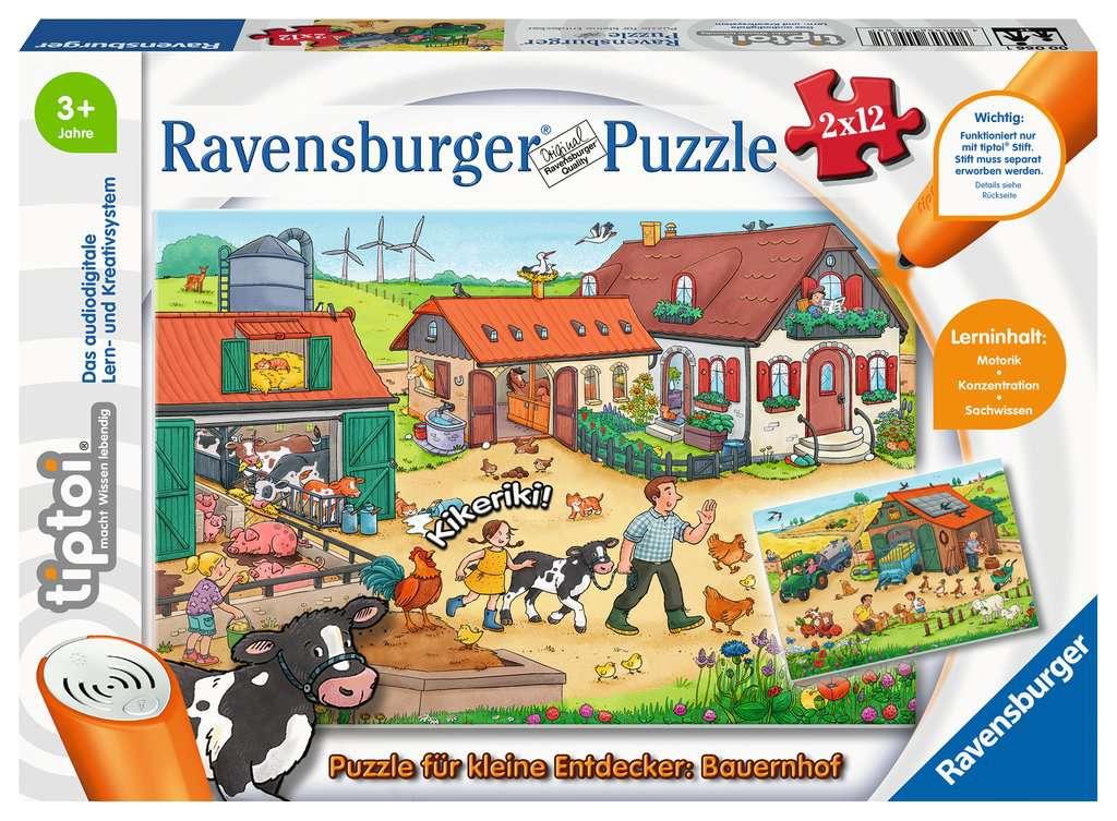 tiptoi® Puzzle Bauernhof für kleine Entdecker
