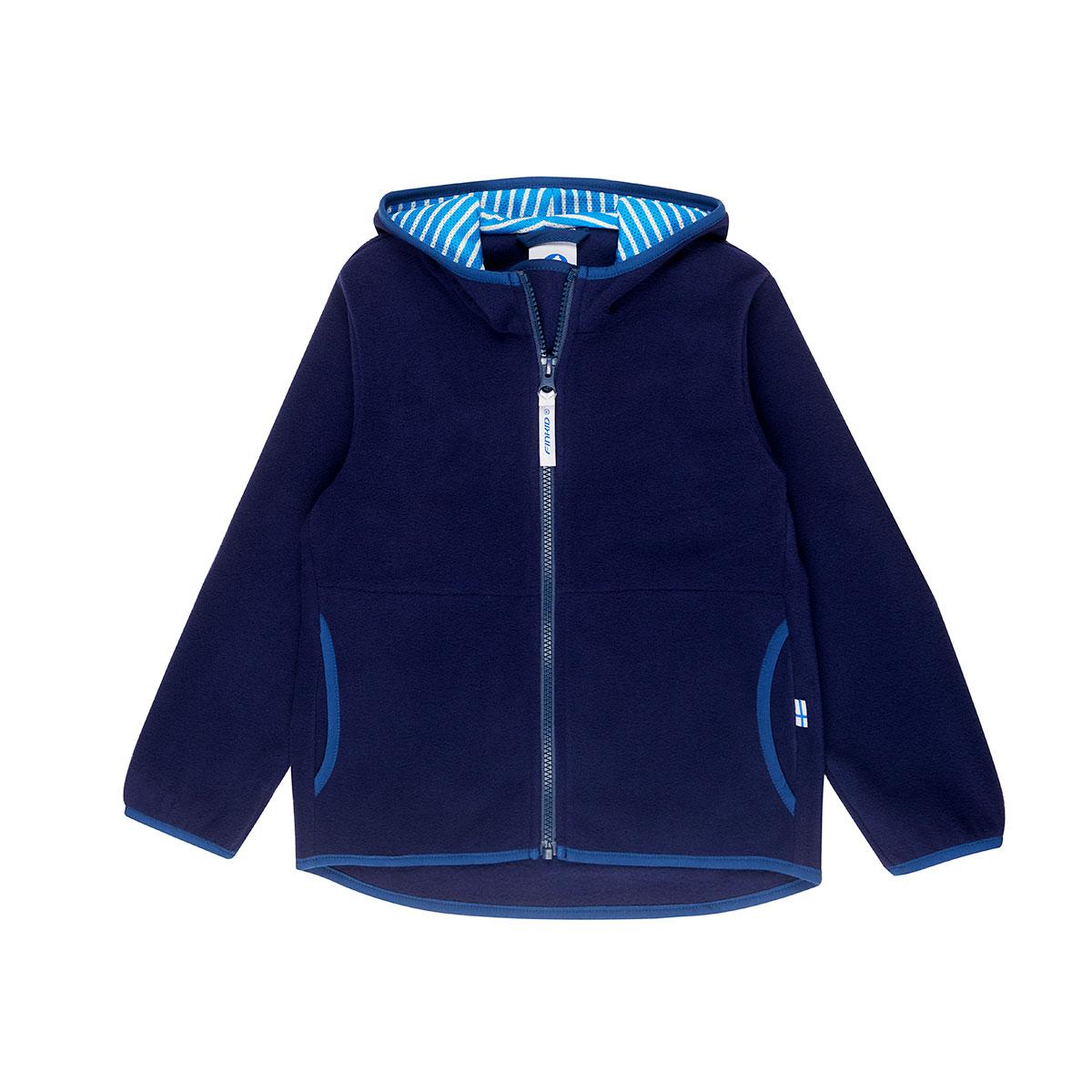 PAUKKU navy/denim zip-in inner jacket  090/100 Finkid®