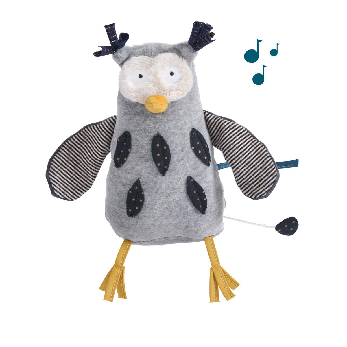 Musik-Puppe Eule
