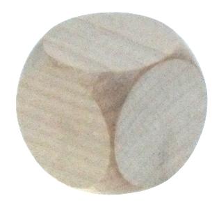 Würfel,Holz,blanko,groß,Schtl