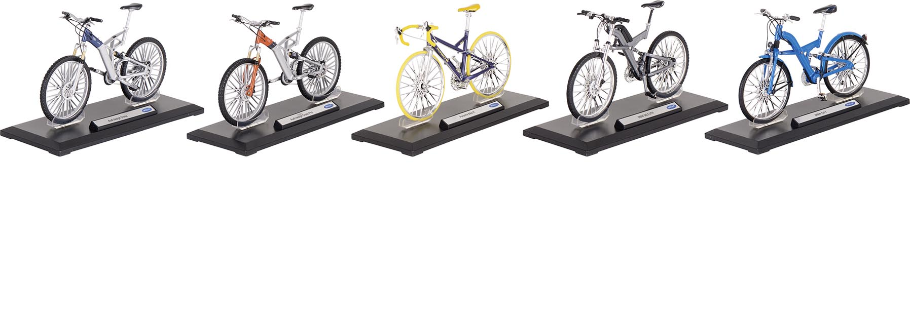 Fahrräder, Spritzguss, 1:10,