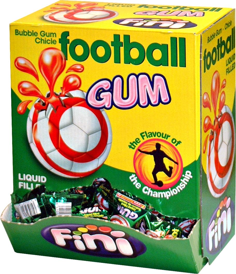 Fußball Kaugummi Süssigkeit