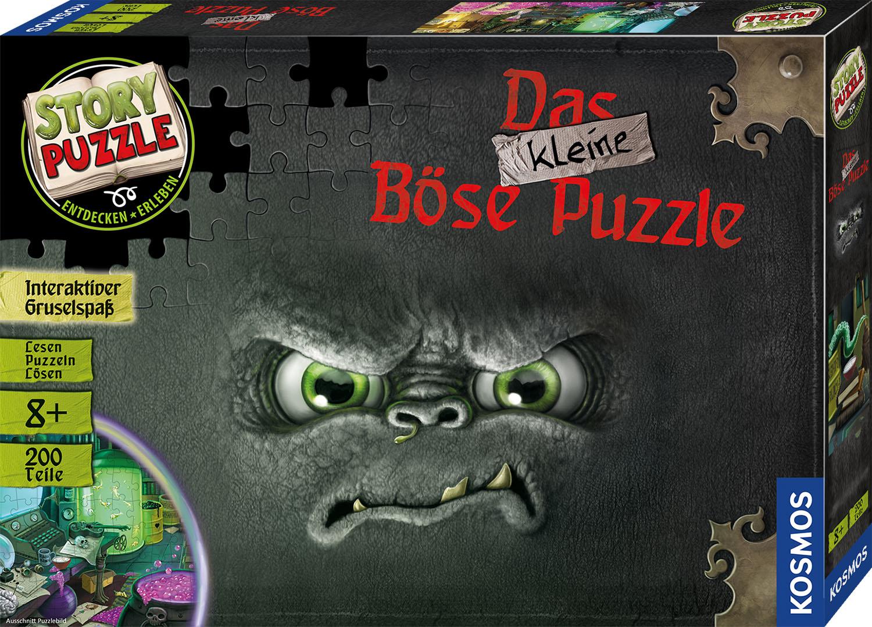 Das kleine Böse Puzzle Story Puzzle 200 Teile