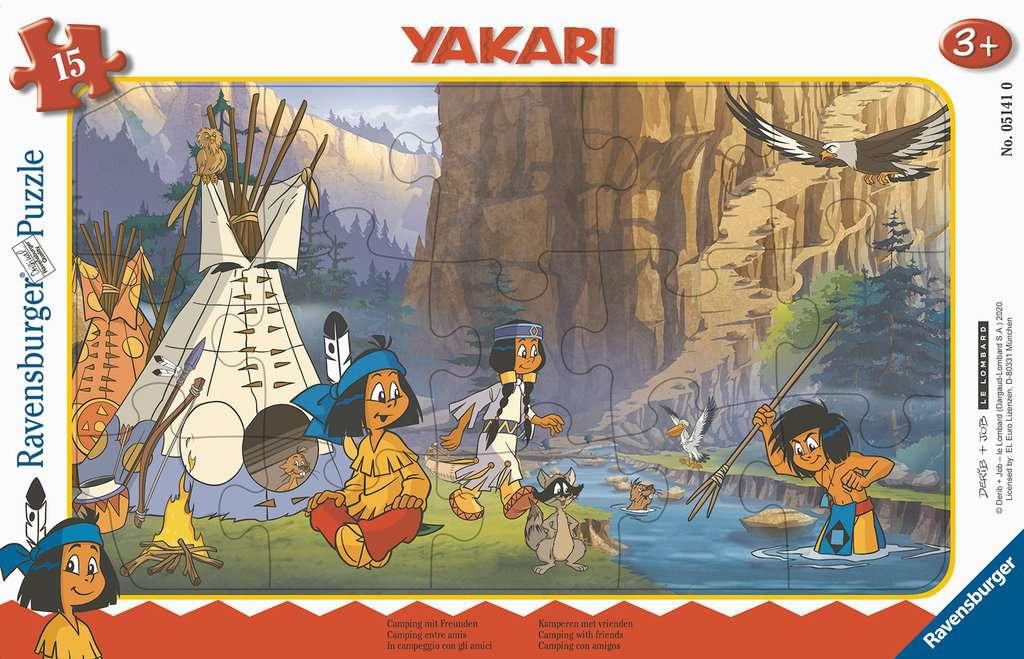 Yakari Camping mit Freunden 15T