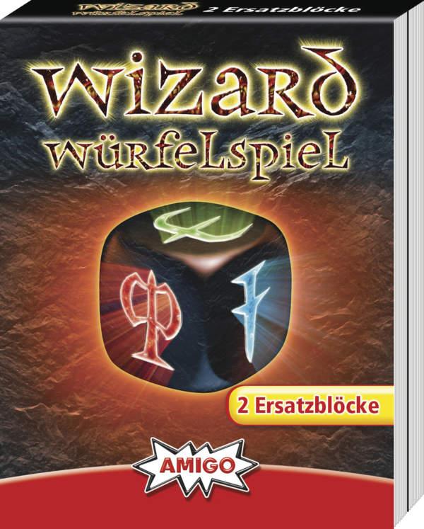 Wizard Würfelspiel Ersatzblöc